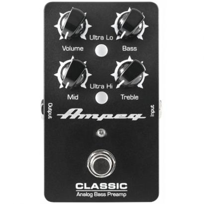 Ampeg Classic Analog Bass Preamp analoges Bass-Preamp-Pedal