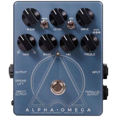 Darkglass Alpha Omega Distortion-Effektpedal