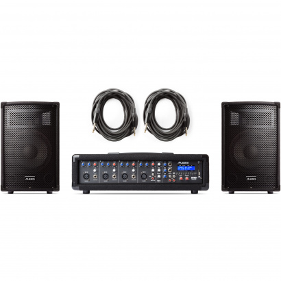 Alesis PA System in a Box 280W 4-kanaals PA-systeem