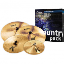Zildjian K0801C Country Pack Beckenset