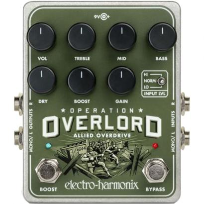 Electro Harmonix Operation Overlord Allied Overdrive Effektpedal
