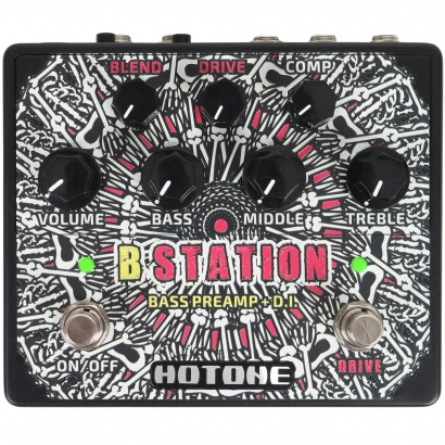 Hotone B-Station Bass Preamp D.I. Pedal