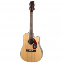 Fender Classic Design CD-140SCE-12 Natural Westerngitarre, 12-saitig, mit Koffer