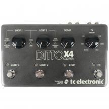 TC Electronic Ditto X4 Looper Effektpedal