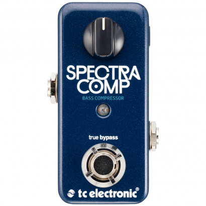 TC Electronic SpectraComp Bass Compressor Effektpedal