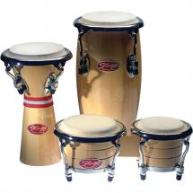 Stagg BCD-N-SET Mini-Percussion-Pack, Bongos + Conga + Djembe