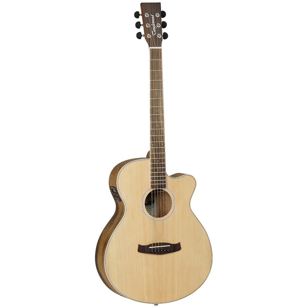Tanglewood dbt sfce pw westerngitarre mit tonabnehmer for The tanglewood
