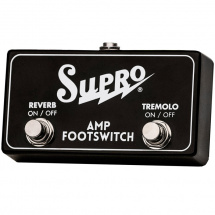 Supro SF2 Tremolo & Reverb Footswitch