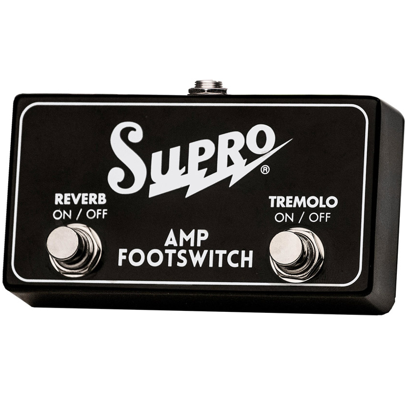Supro SF2 Tremolo Reverb Footswitch