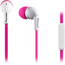 Pioneer multimedia SE-CL712T-P In-Ear-Kopfhörer, pink