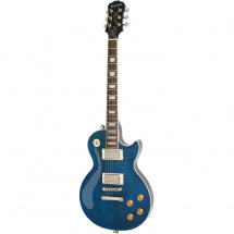 Epiphone Les Paul Tribute Plus Midnight Sapphire with case