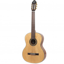 LaPaz CST400N solid top classical guitar, natural