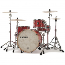 Sonor SQ1 322 Set NM HRR 3-teiliger Kesselsatz, Hot Rod Red