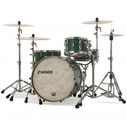 Sonor SQ1 324 Set NM RGR 3-teiliger Kesselsatz, Roadster Green
