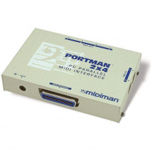 (B-Ware) M-Audio Portman 2x4 MIDI-Interface für Parallel-Schnittstelle
