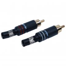 Devine 2RCAM-LR RCA male connectors (set of 2)