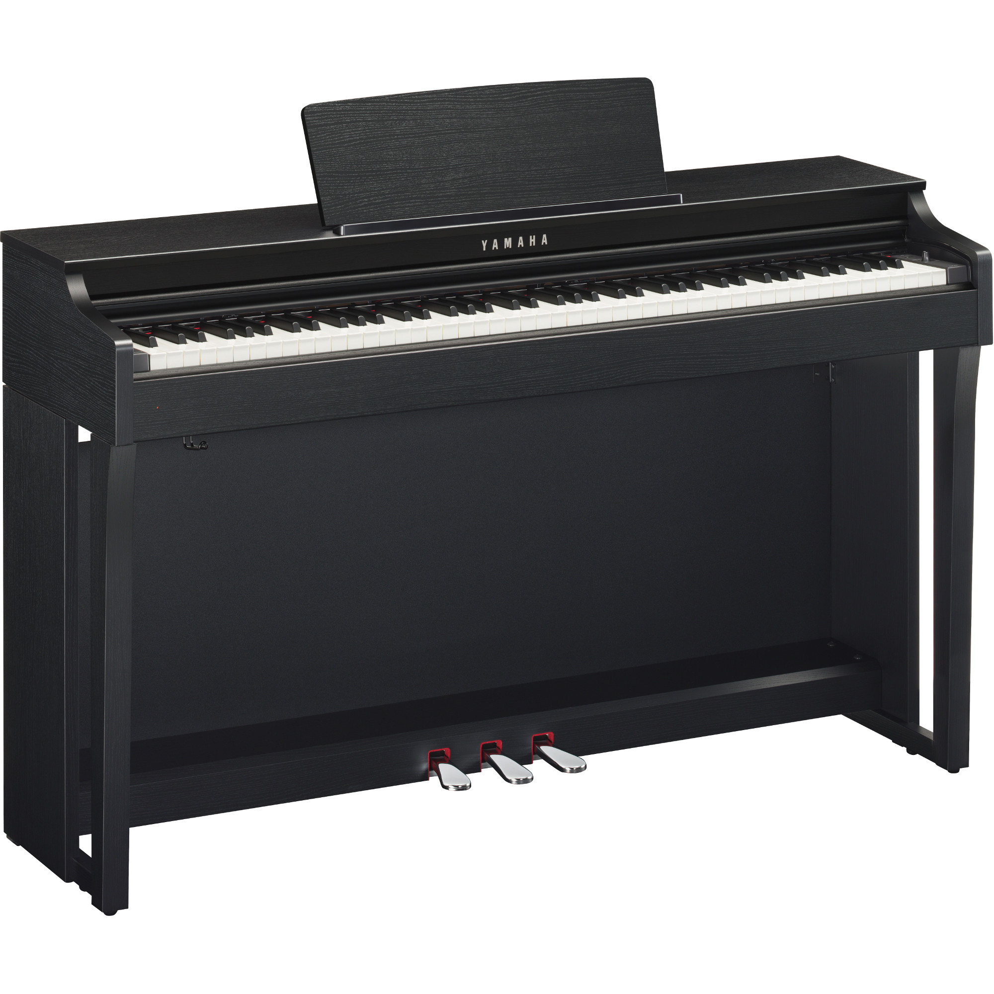 yamaha clp 625b clavinova e piano schwarz kaufen bax shop. Black Bedroom Furniture Sets. Home Design Ideas