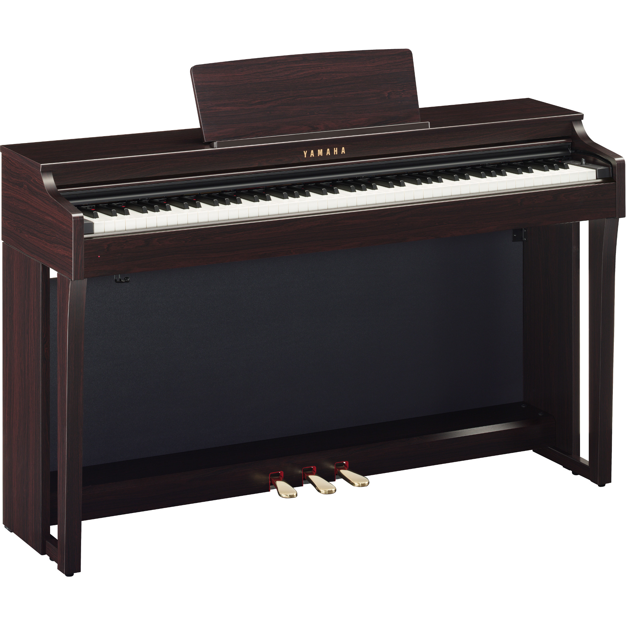 yamaha clp 625r clavinova e piano braun kaufen bax shop. Black Bedroom Furniture Sets. Home Design Ideas