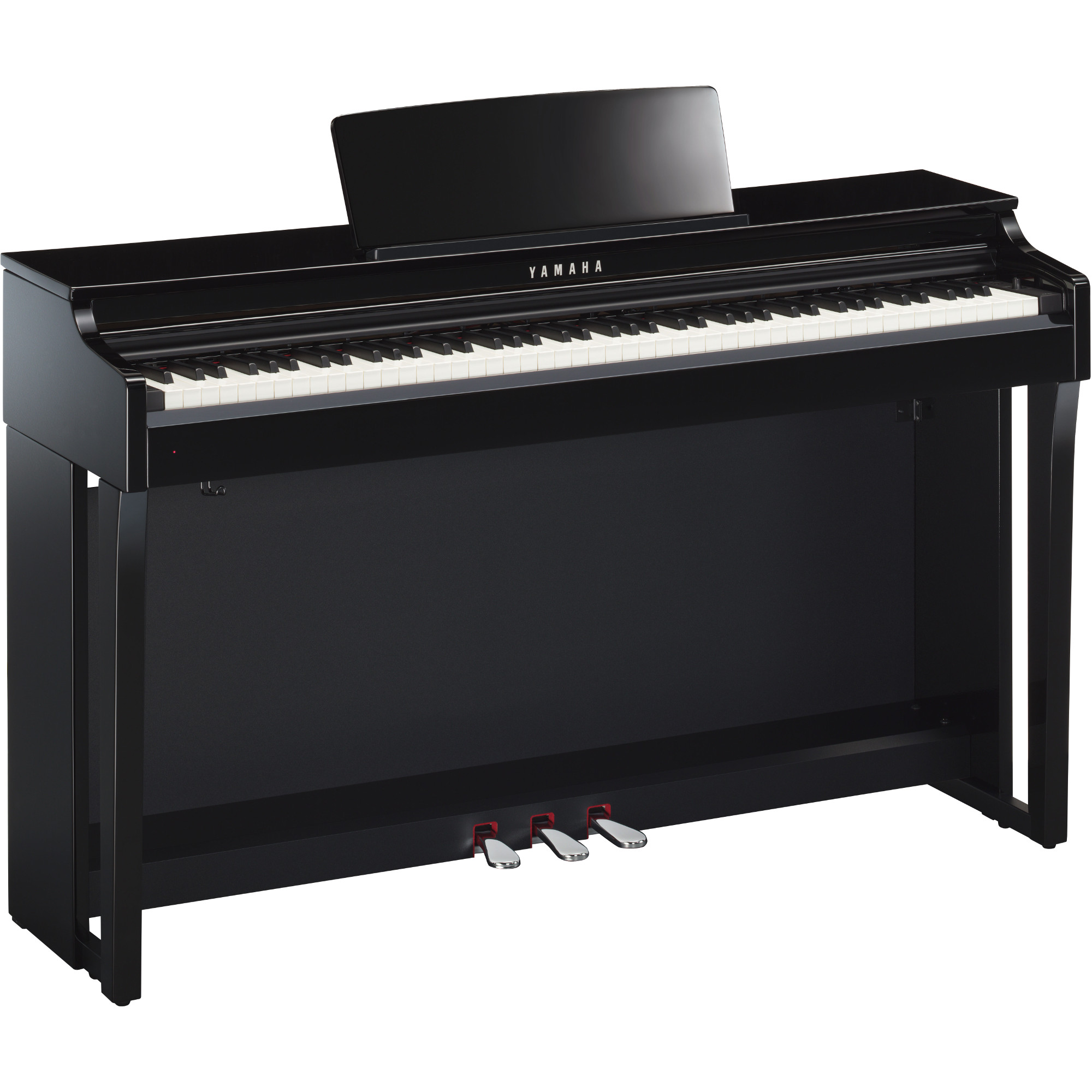 yamaha clp 625pe clavinova e piano schwarz kaufen bax shop. Black Bedroom Furniture Sets. Home Design Ideas
