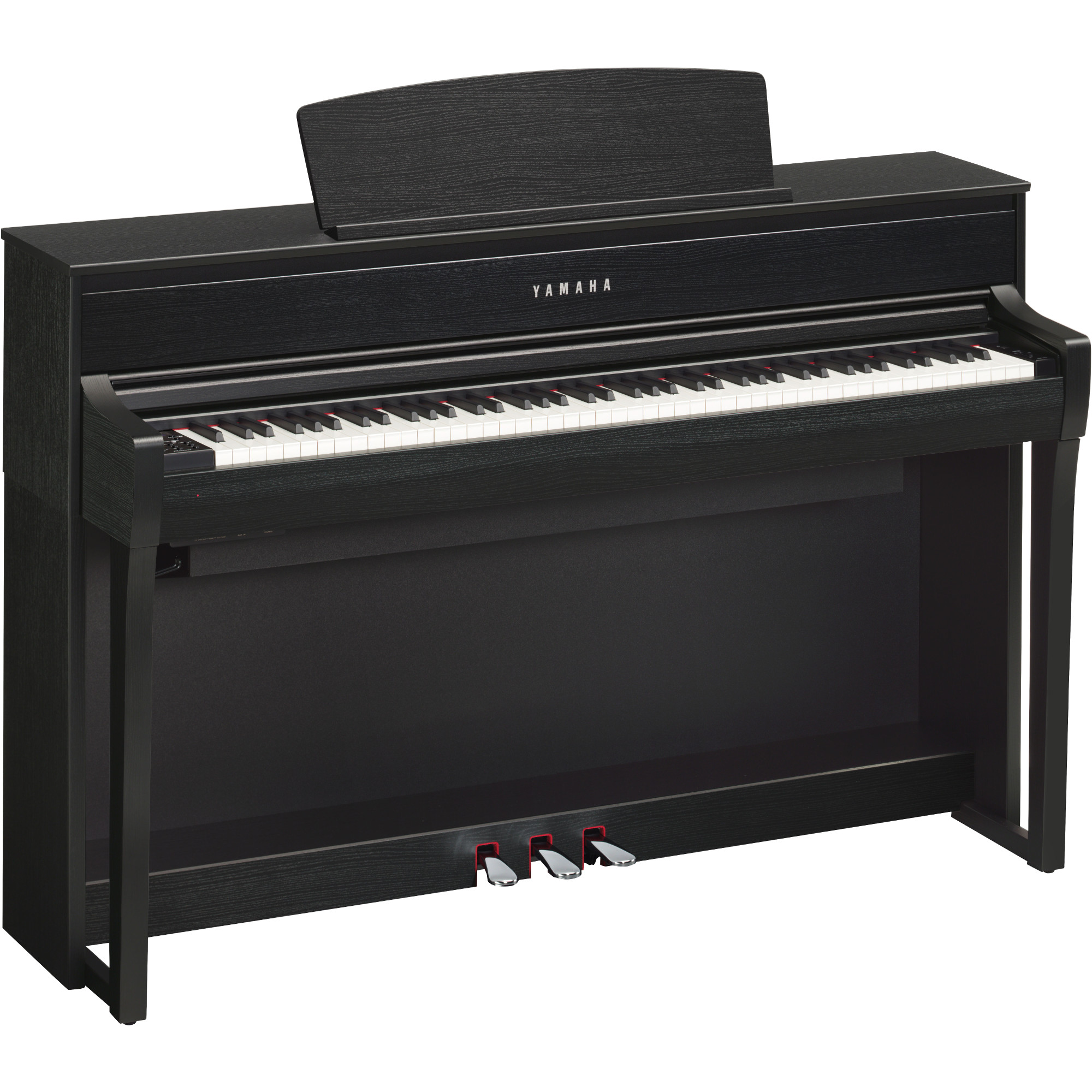 yamaha clp 675b clavinova e piano schwarz kaufen bax shop. Black Bedroom Furniture Sets. Home Design Ideas