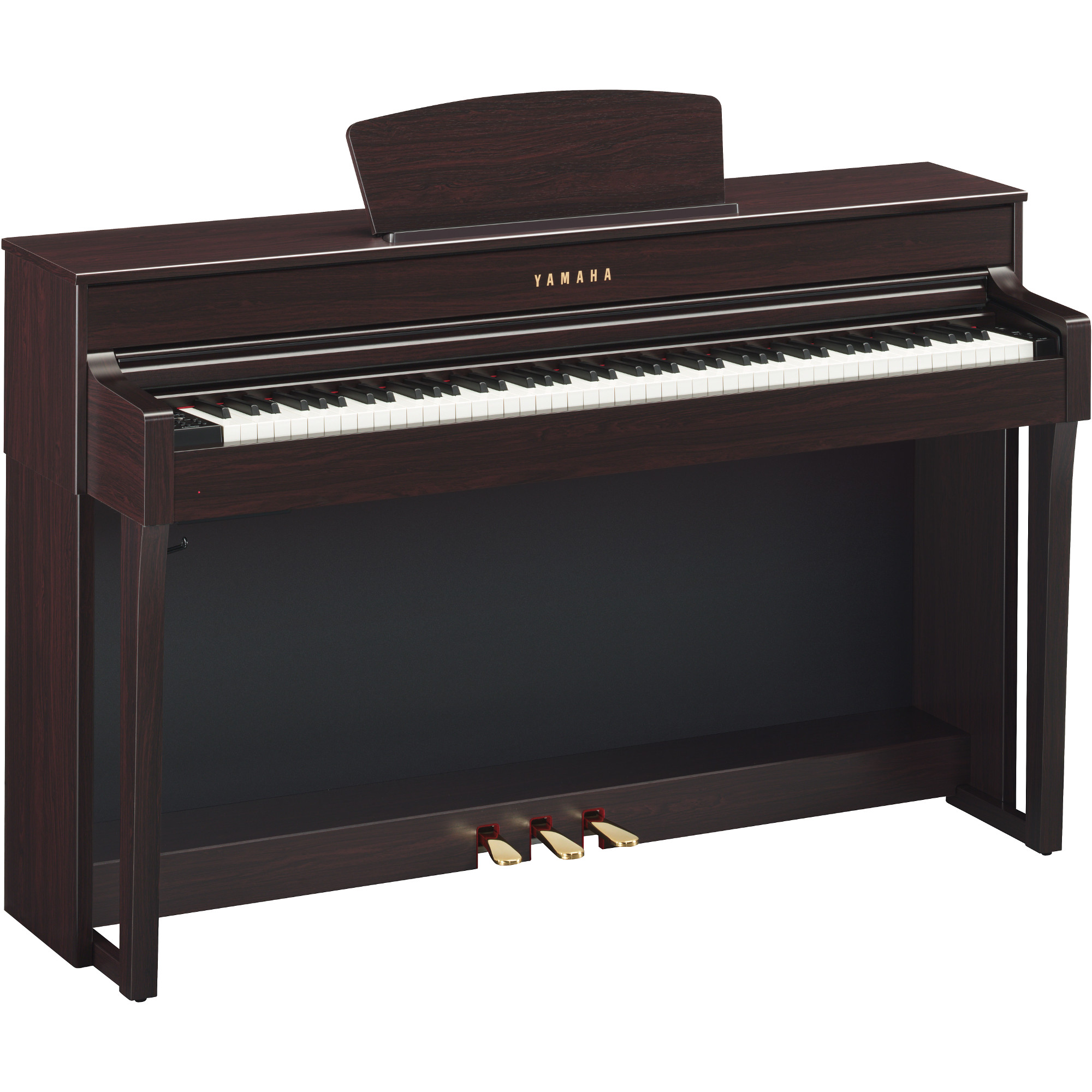 yamaha clp 635r clavinova e piano dunkelbraun kaufen. Black Bedroom Furniture Sets. Home Design Ideas