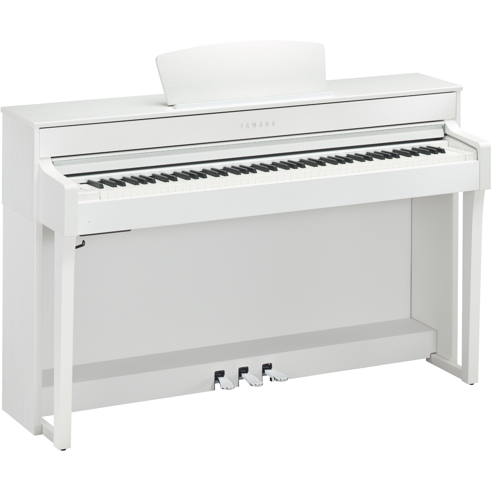 yamaha clp 635wh clavinova e piano wei kaufen bax shop. Black Bedroom Furniture Sets. Home Design Ideas