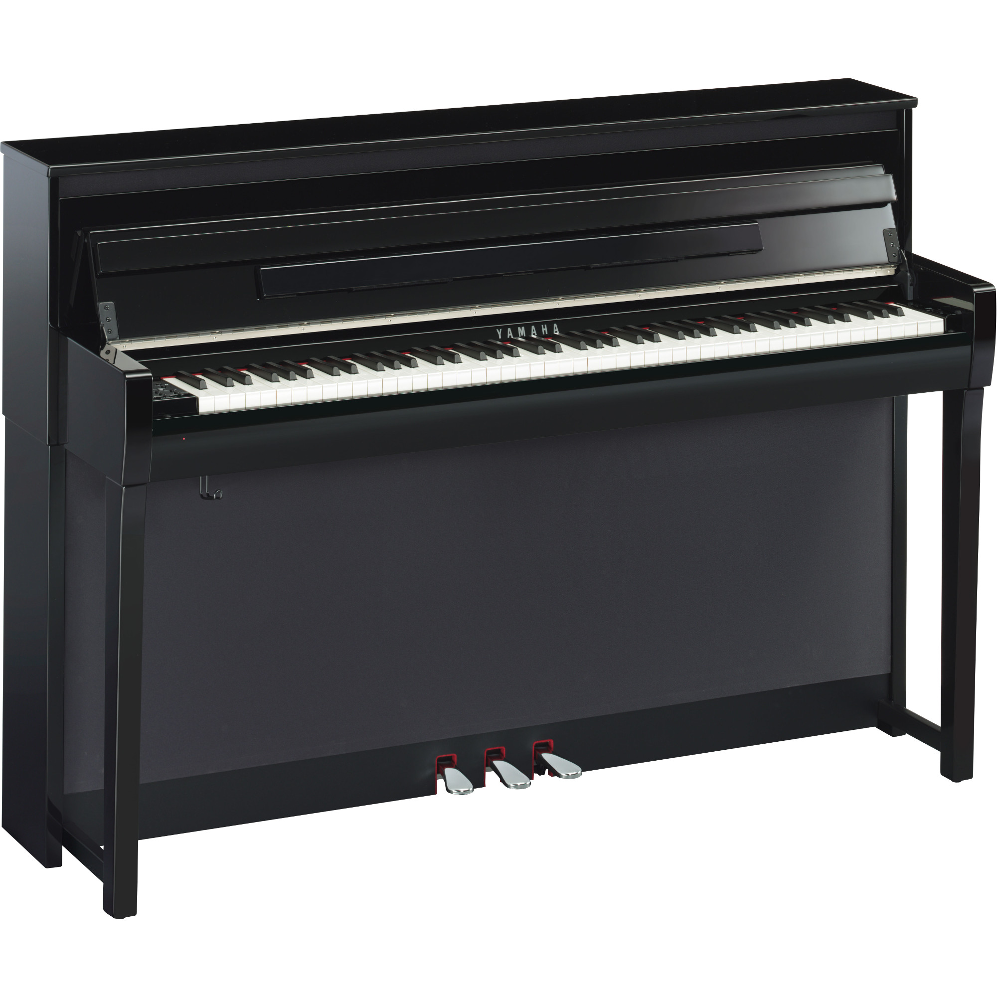 yamaha clp 685pe clavinova e piano schwarz kaufen bax shop. Black Bedroom Furniture Sets. Home Design Ideas