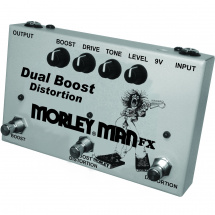 Morley Man FX MDB2 Dual Boost Distortion Effektpedal