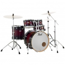 (B-Ware) Pearl DMP905/C261 Decade Maple Red Deep Gloss Schlagzeug