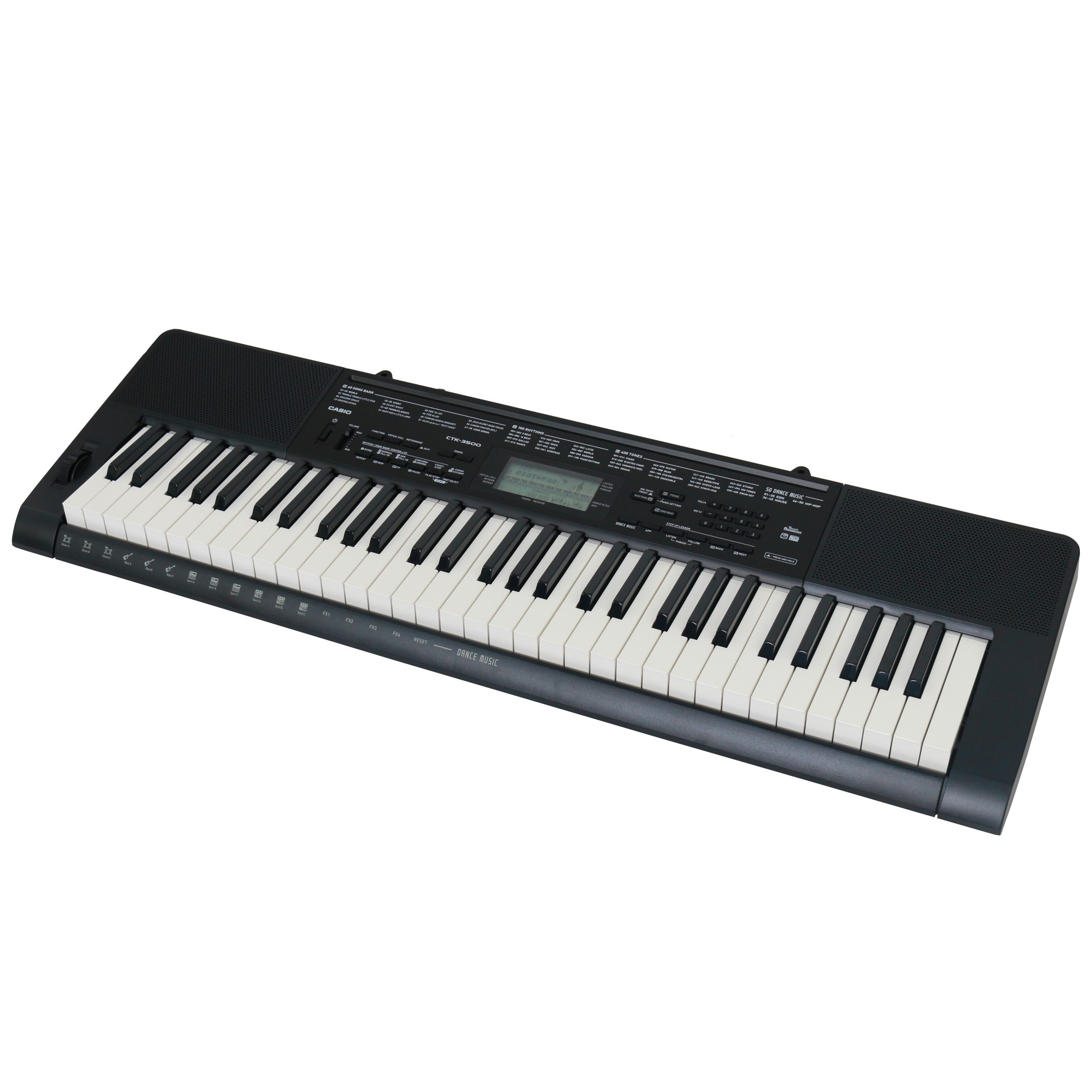 Casio CTK 3500 Keyboard, 61 Tasten (USB|MIDI)