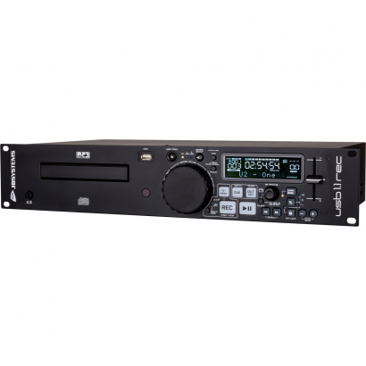 JB systems USB 1.1 REC 19 Zoll Kassetten/CD/USB-Player u. Recorder, 2 HE