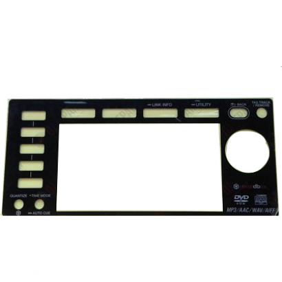 Pioneer spareparts DAH2874 Display-Blende für CDJ-2000 (NXS)