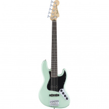 (B-Ware) Fender Deluxe Active Jazz-Bass V Surf Pearl