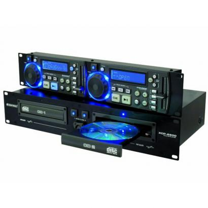 Omnitronic XCP-2800 doppelter CD-Player