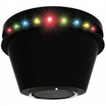 Party FunLights LED Discoleuchte mit Bluetooth-Lautsprecher
