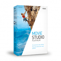 Vegas Movie Studio 14 Platinum Videoschnitt-Software (Download)