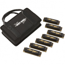 Fender Hot Rod Deville Harmonica 7 Pack mit Etui
