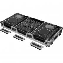 Odyssey FZ12CDJWXD Flightcase für DJ-Mixer & 2 Media-Player