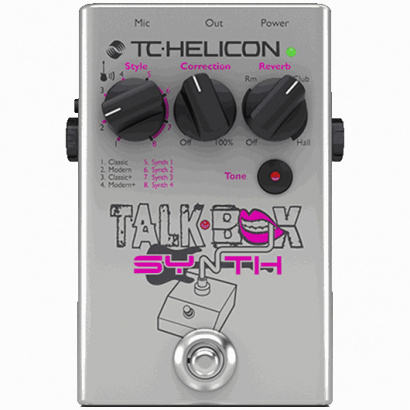 TC Helicon Talkbox Synth Stimmen-/Gitarreneffekt