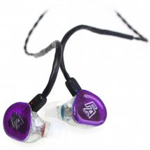 (B-Ware) Fischer Amps Rhapsody Series - Rapture In-Ear Kopfhörer, Trans Purple