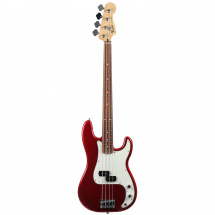 Fender Standard Precision Bass Candy Apple Red PF