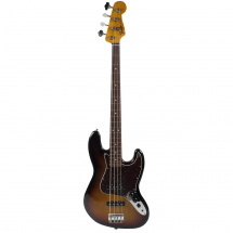 Fender Classic Series '60s Jazz Bass Lacquer 3-Color Sunburst PF