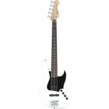 Fender Deluxe Active Jazz Bass V Olympic White PF