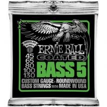 Ernie Ball 3836 Coated Bass 5 Regular Slinky 45 - 130 Saitenset