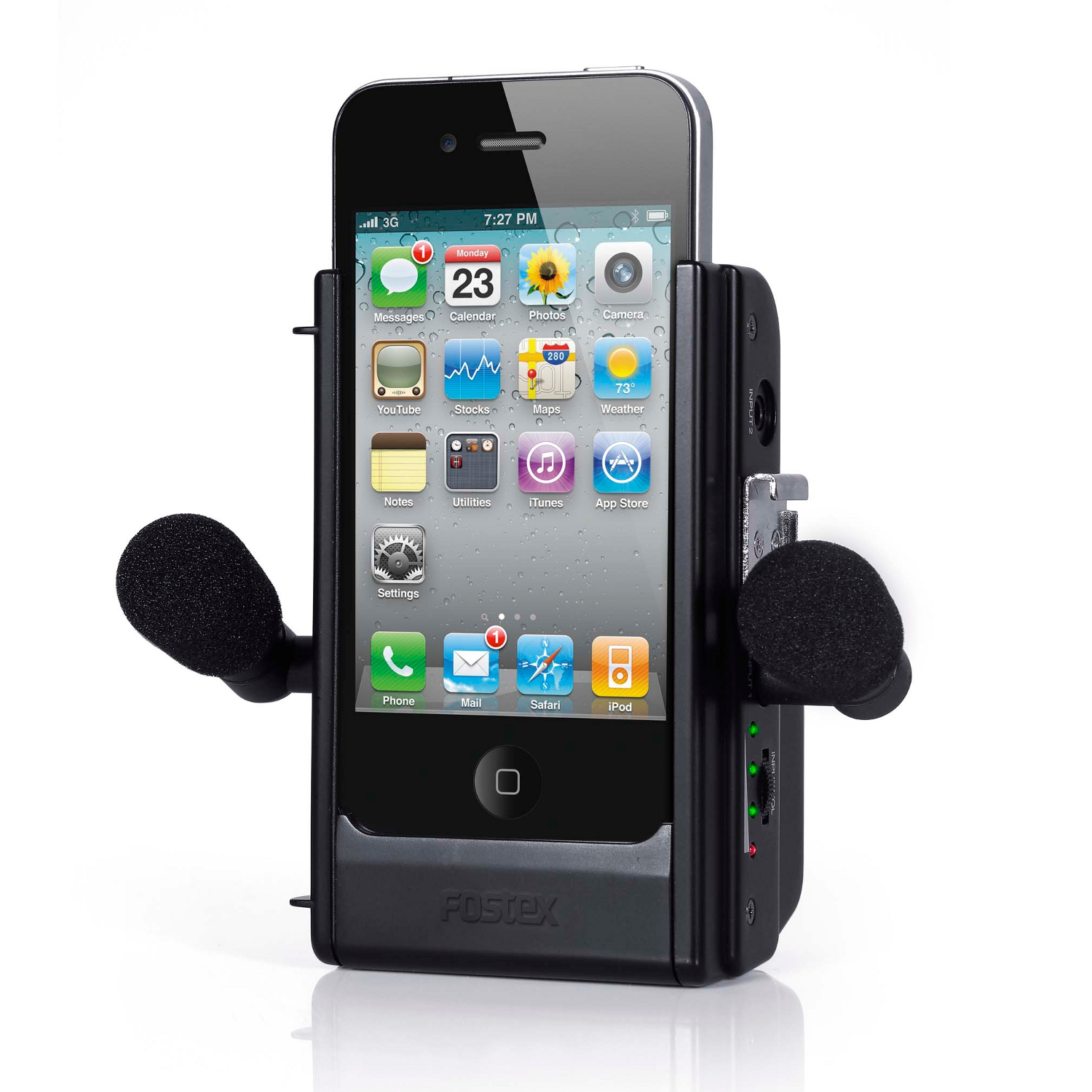 fostex ar 4i iphone 4 dock audio interface kaufen bax shop. Black Bedroom Furniture Sets. Home Design Ideas