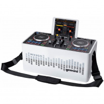 Gemini MIX2GO tragbares All-in-One DJ-System