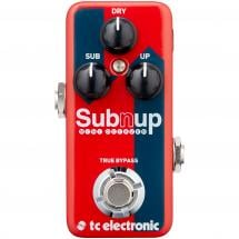 TC Electronic Sub 'N' Up Mini Octaver Effektpedal