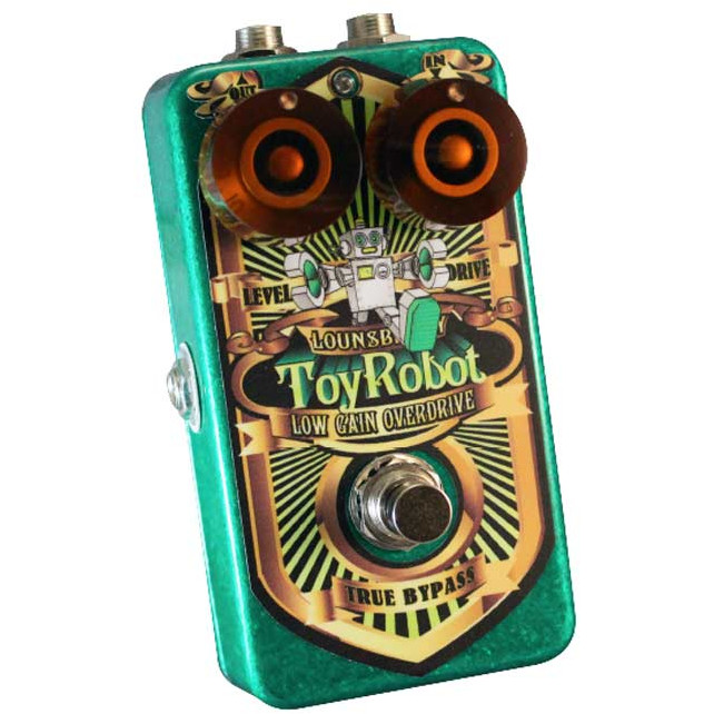 Lounsberry Pedals TRO 1 Toy Robot analoges FET Low Gain Overdrive Pedal
