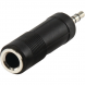 HQ Adapter Stereoklinke 3,5 mm - Stereostecker 6,35 mm female