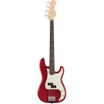Fender American Professional Precision Bass Candy Apple Red RW